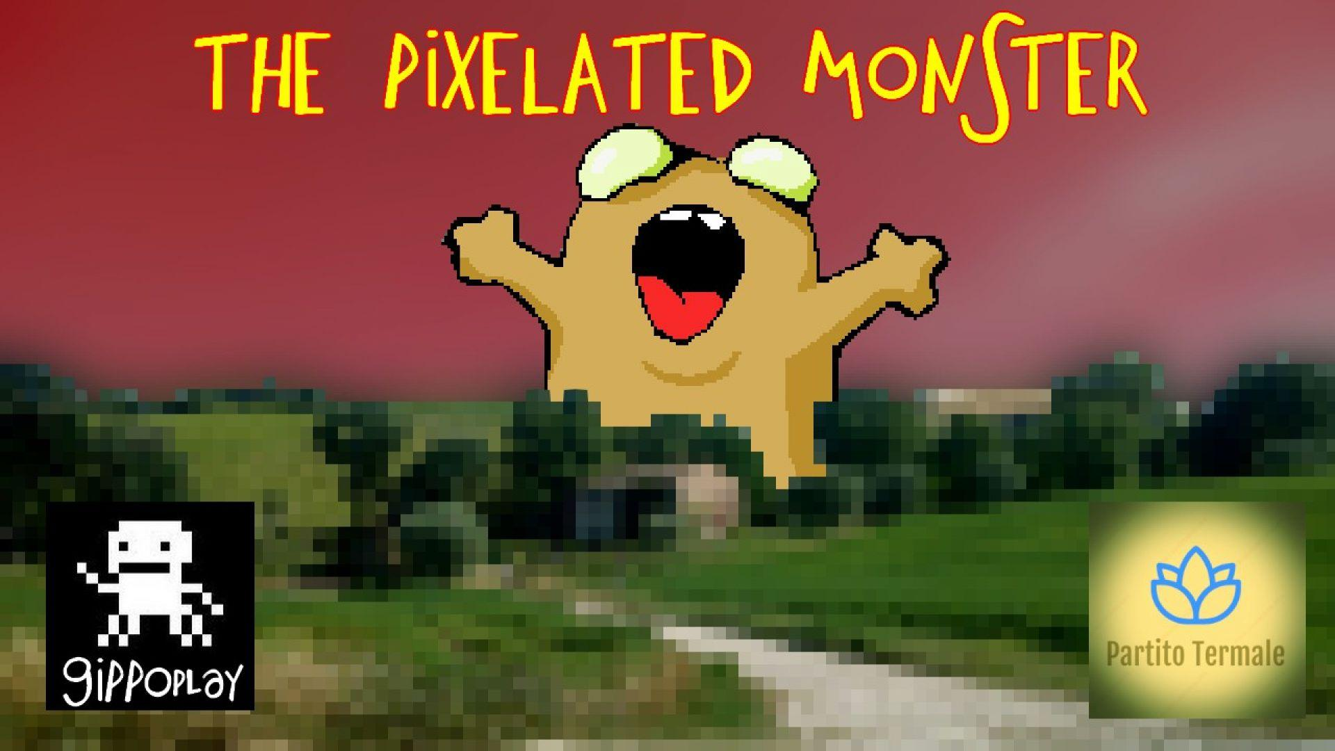 Cover di The Pixelated Monster